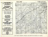 Saline T4S-R5E, Washtenaw County 1957